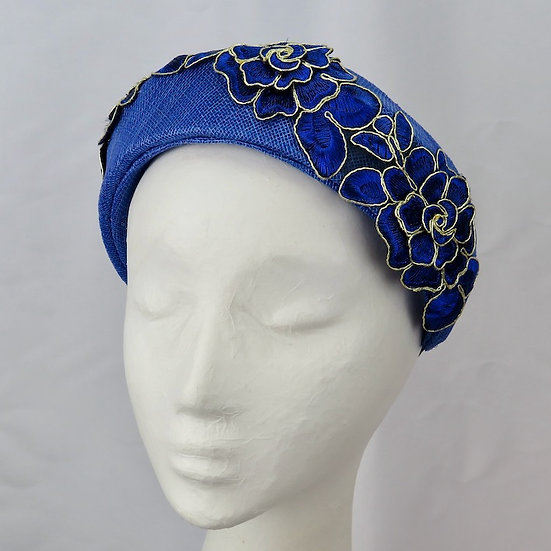 Very Regal - Royal Blue Headband