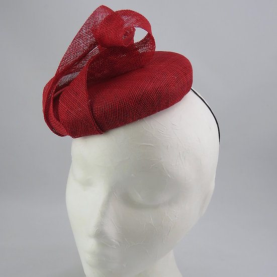 Red Miss - Red button hat