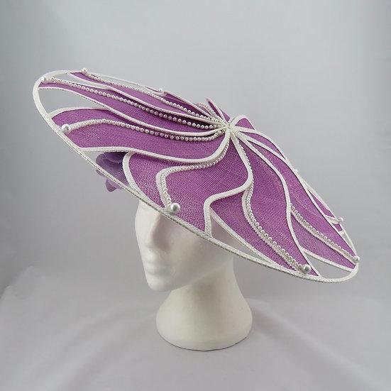 Blossom Belle - Lavender Mauve Brim