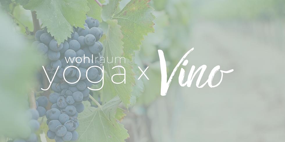 Yoga x Vino im August