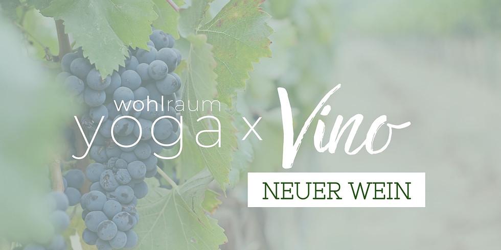 Yoga x Vino - Neuer Wein