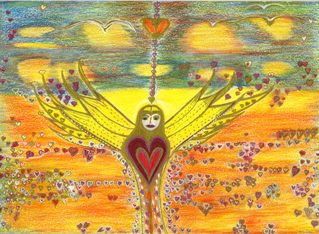 A Vision of The Angel of Love