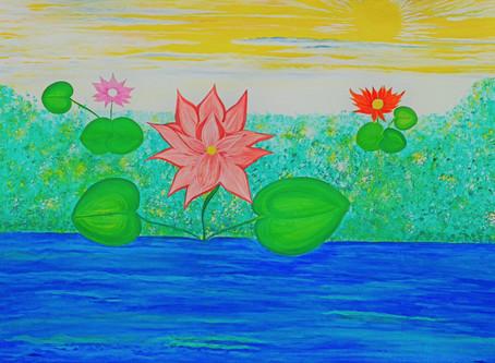 Healing Art -Awakening of The Lotus Flower