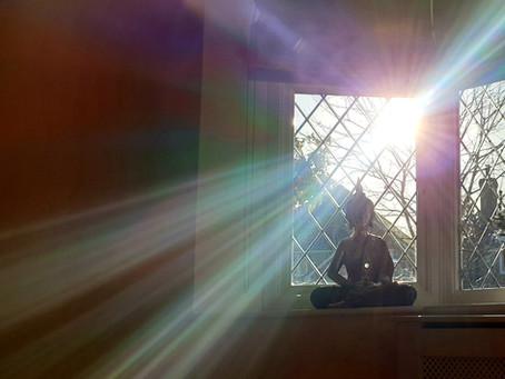 Enlightening Photographs & Open Eye Meditation