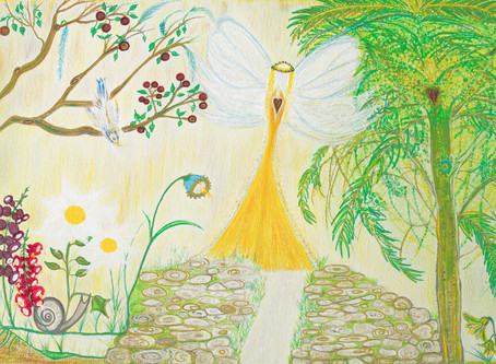 Angel of Love, Peace, Health and Abundance