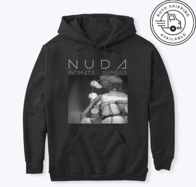 Nuda Pullover Hoodie- Black