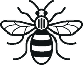 UoM Bee 1 colour black.png