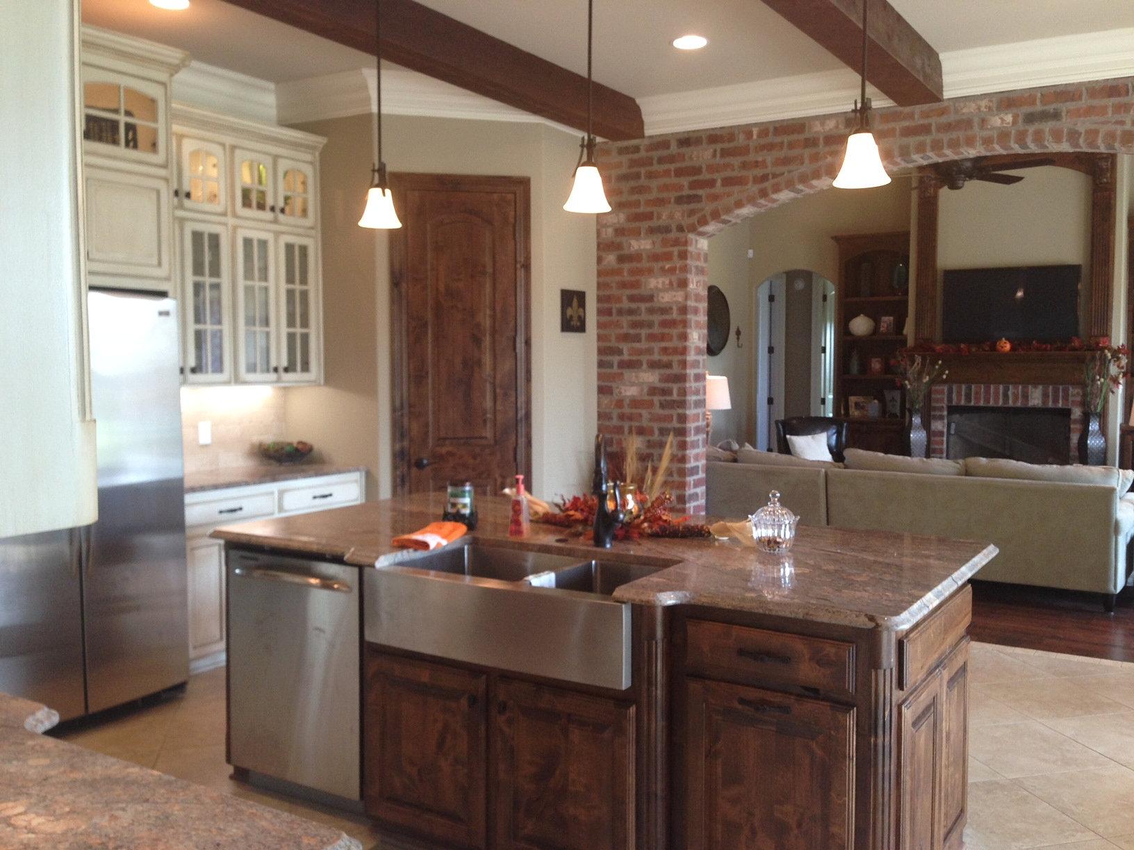 Kitchen Living Room Design Plans