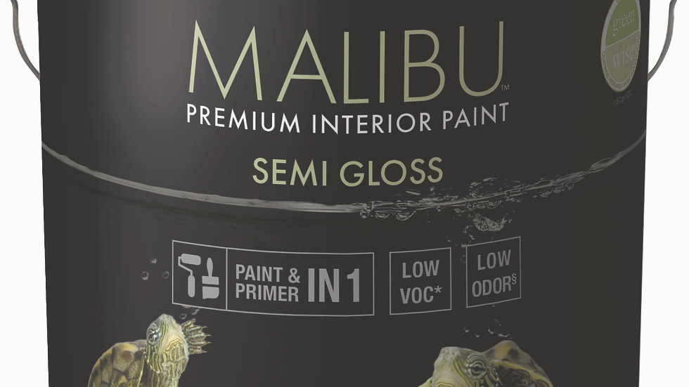 786 Malibu Semi Gloss Premium Interior Paint Quart