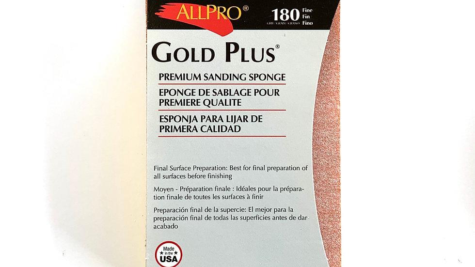 180 Fine Gold Plus Sanding Sponge