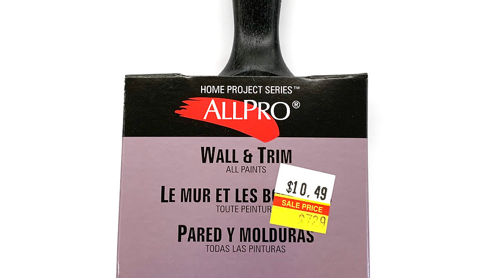 """3"""" Allpro Home Project Brush"""