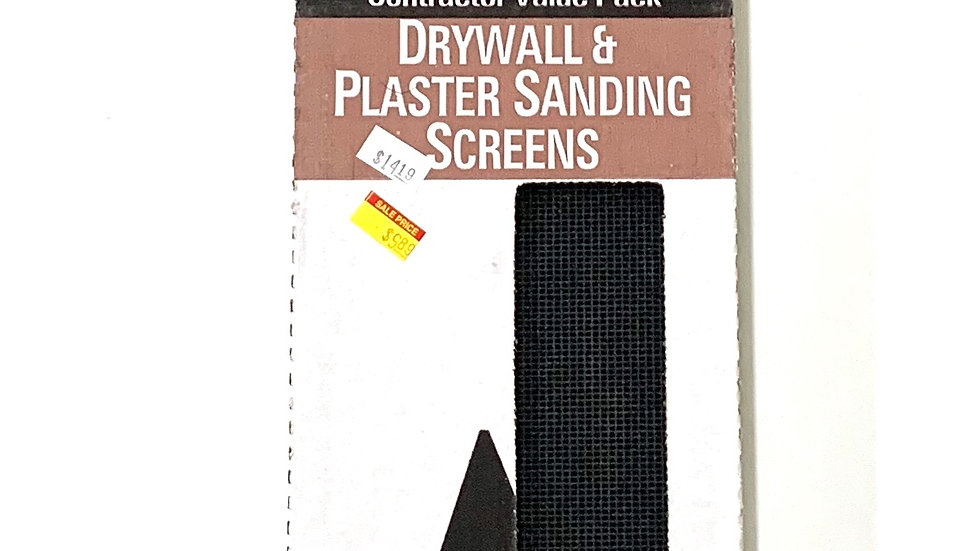 150 Grit Drywall and Plaster Sanding Screens 25 Pack