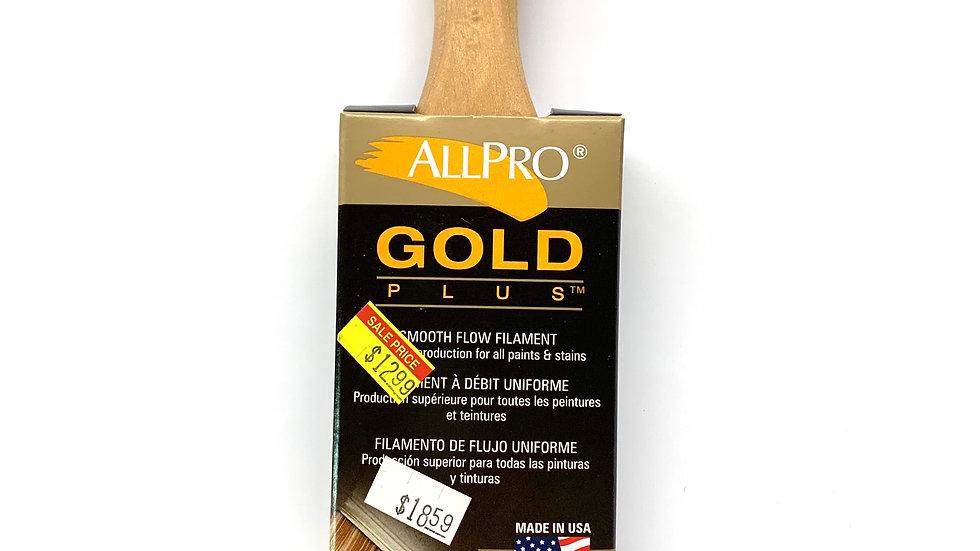 "2"" Allpro Gold Plus Angled Brush"