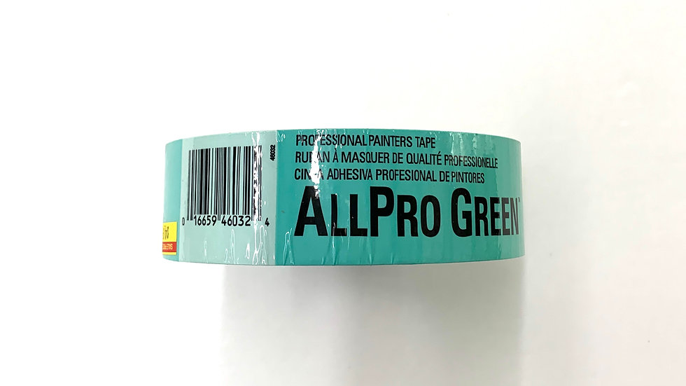 "1 1/2"" Allpro Green Painter's Tape"
