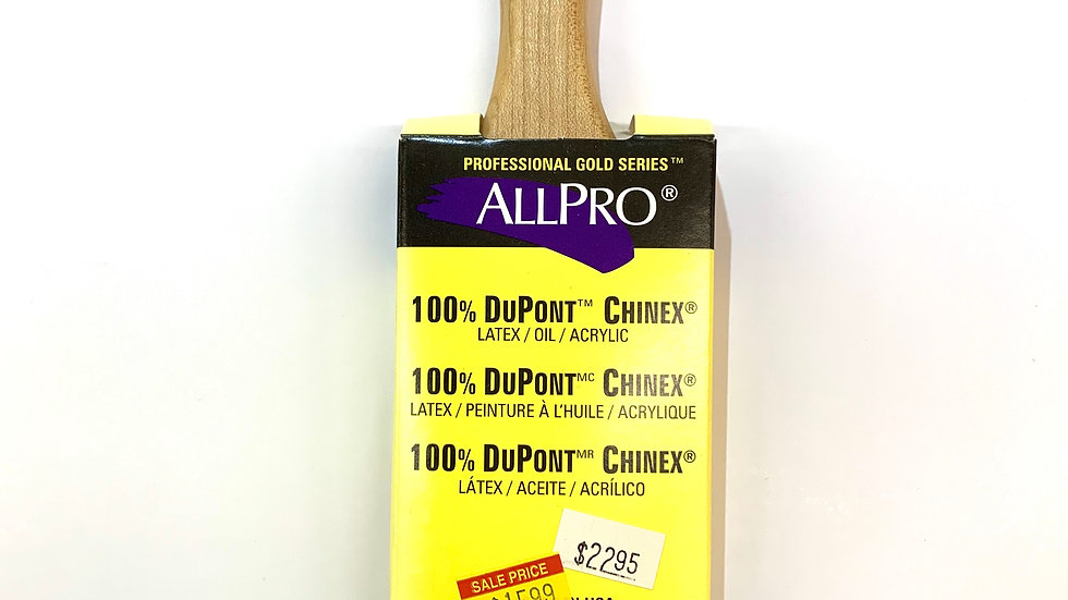 "2"" Allpro Stealth 100% DuPont Chinex Angled Brush"
