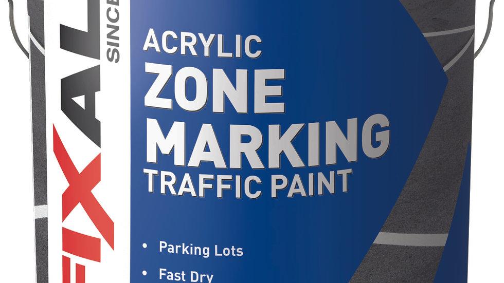 F10885 Yellow Zone Marking Traffic Paint