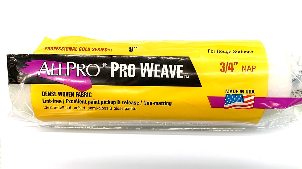"""3/4"""" NAP Pro Weave Roller Cover"""