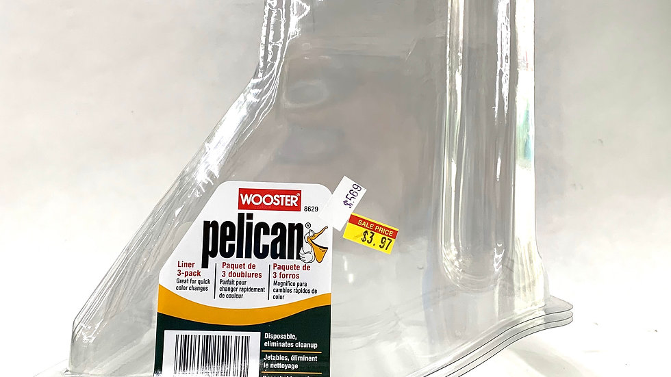 3 Pack of Wooster Pelican Liners