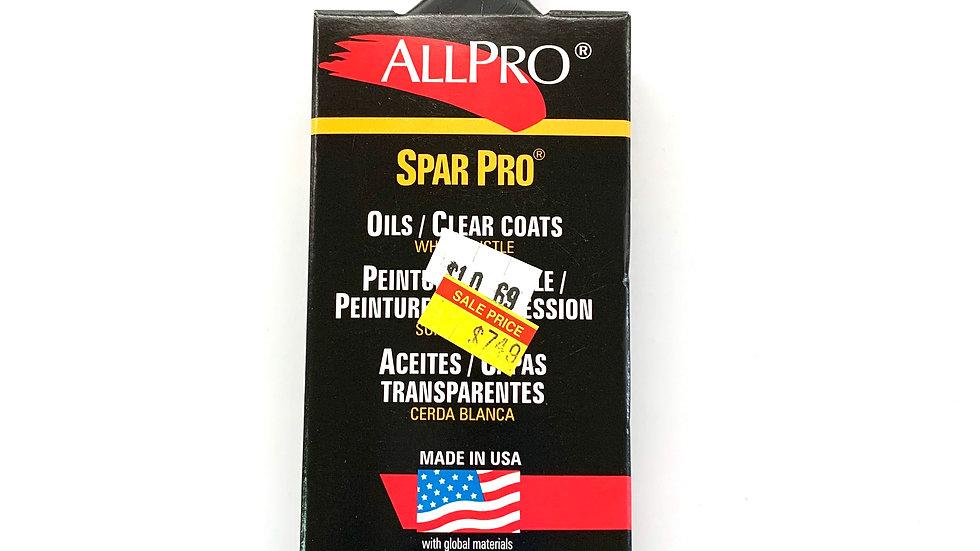"2"" Allpro Spar Pro Stealth Angled Brush"