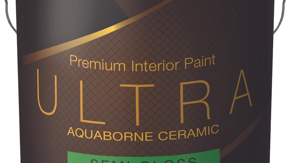 757 Ultra Aquaborne Ceramic Semi Gloss Premium Interior Paint Quart