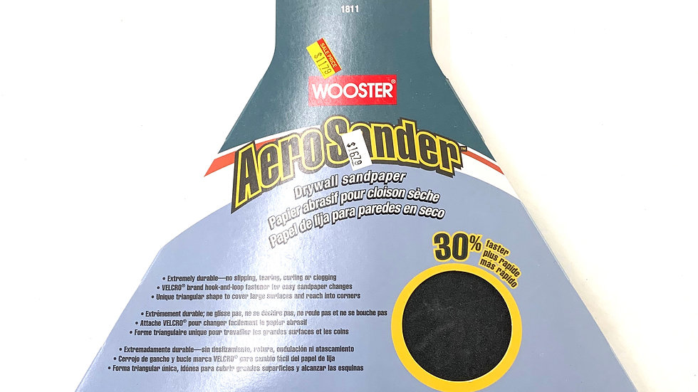 220 Extra Fine Grit Wooster Aero Sander Pad 6 Pack