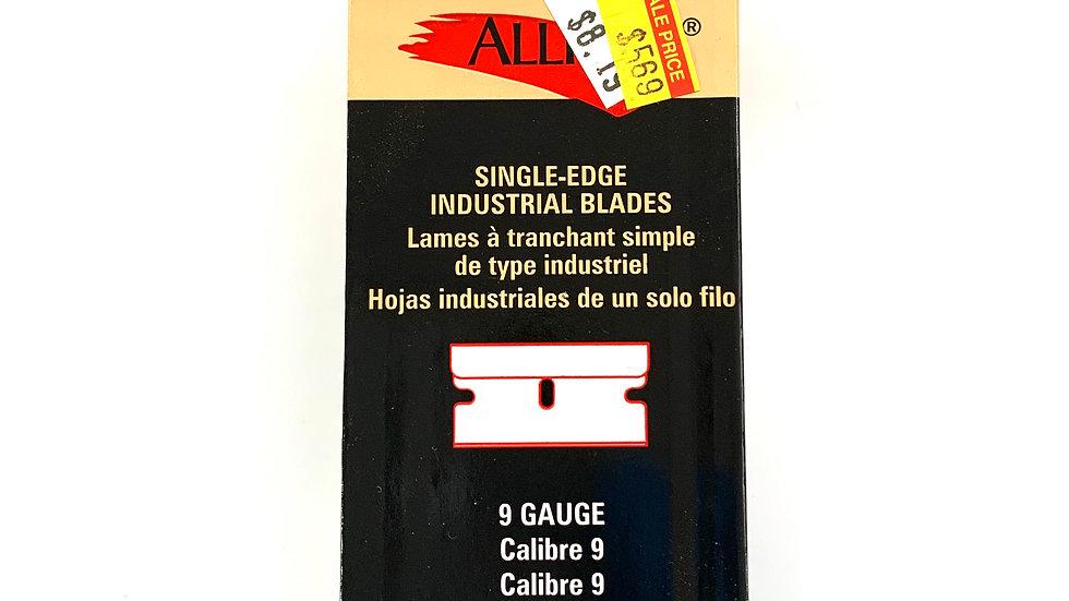 100 Pack of Single Edge Industrial Blades