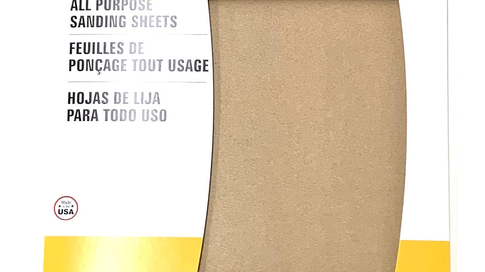 220 Extra Fine Grit Sand Paper 5 Pack