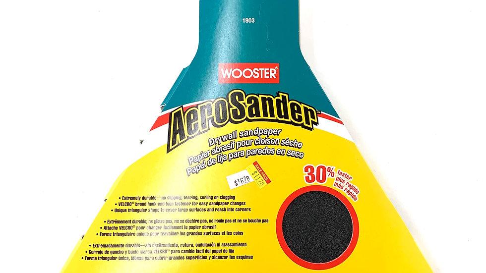 120 Fine Grit Wooster Aero Sander Pad 6 Pack