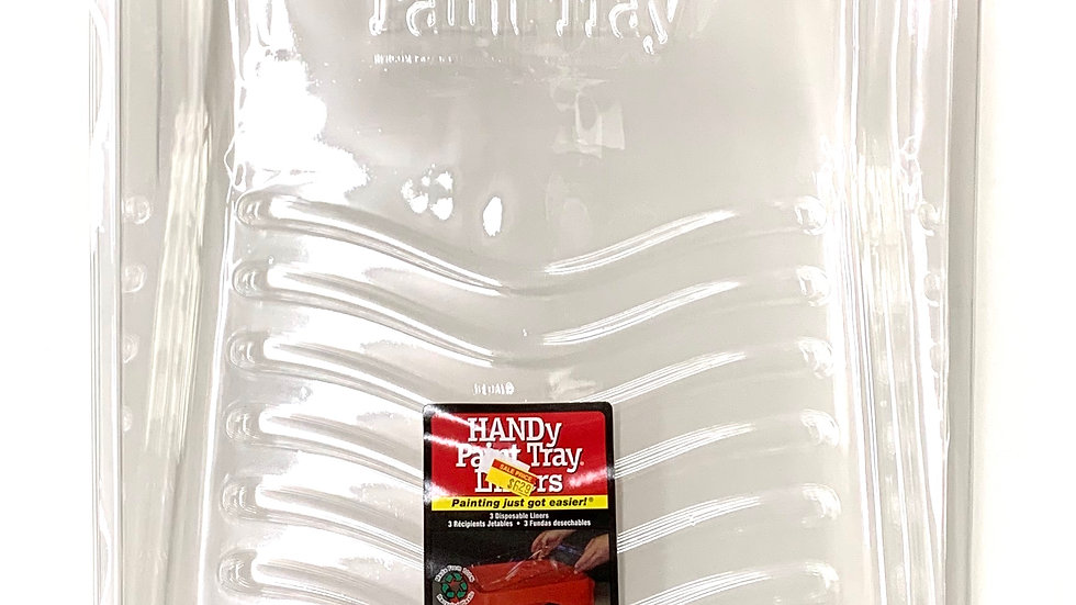 3 Pack of Handy Paint Tray Liners