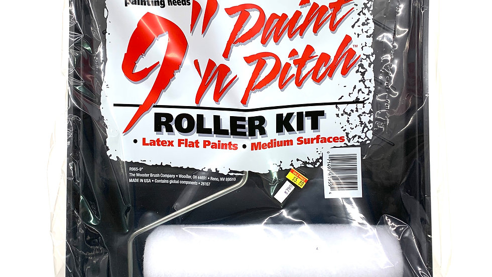 Paint and Roller Kit