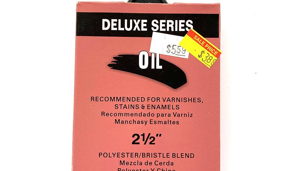 """2 1/2"""" Deluxe Series Oil Brush"""