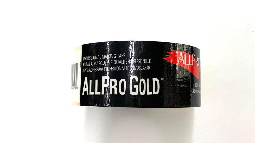 "2"" Allpro Gold Masking Tape"