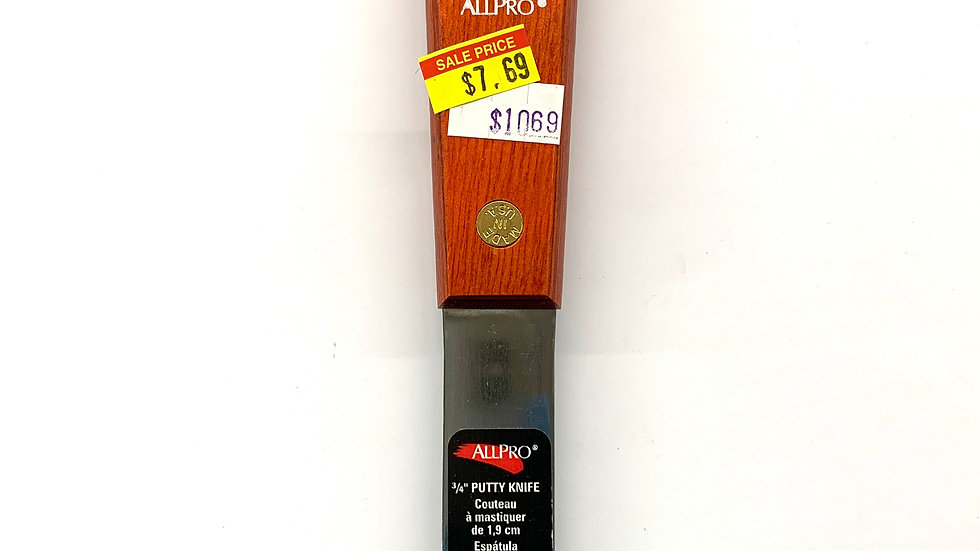 """Allpro 3/4"""" Putty Knife"""