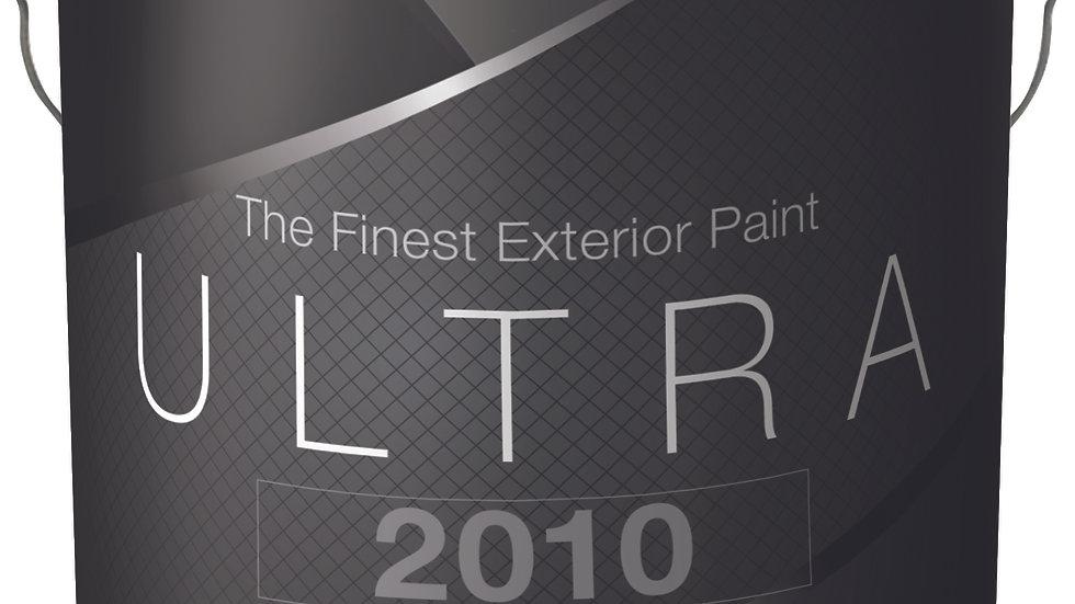 400 Ultra 2010 Velvet Flat Exterior Paint Quart