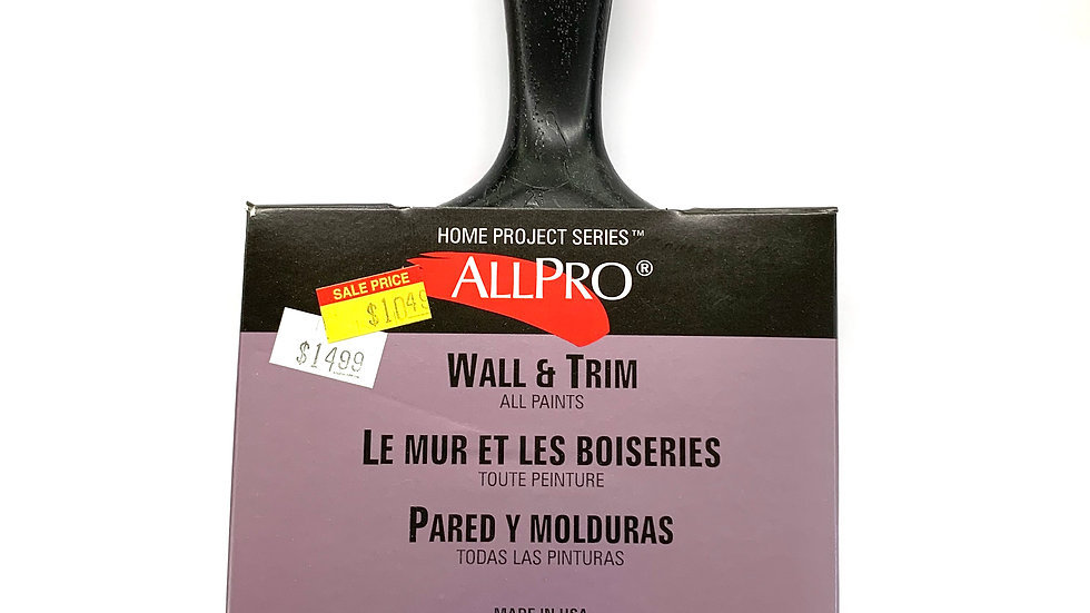 """4"""" Allpro Home Project Brush"""