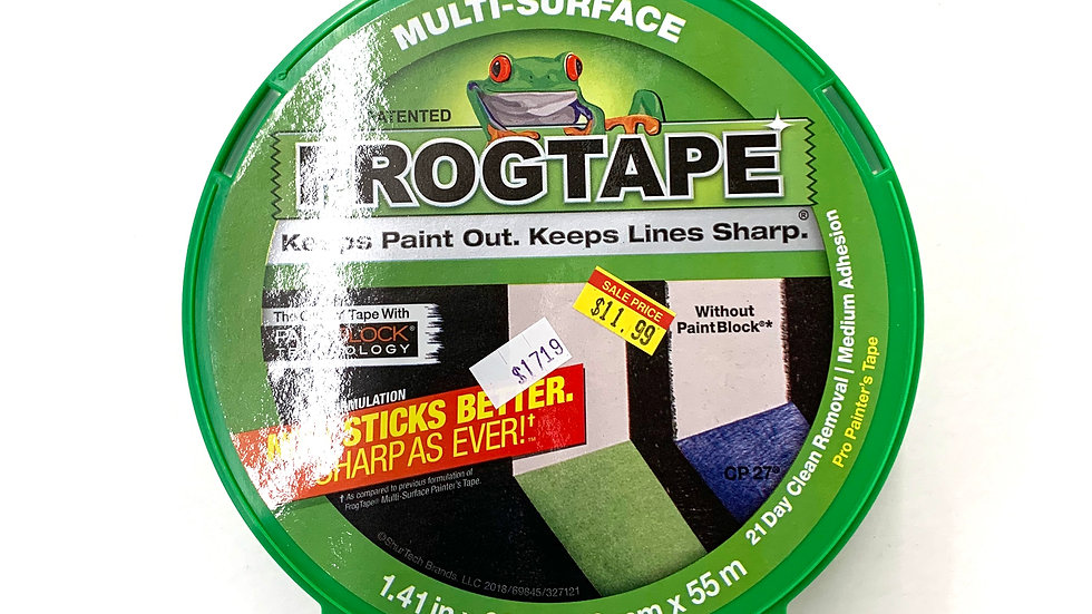 """1 1/2"""" Green Frog Tape"""