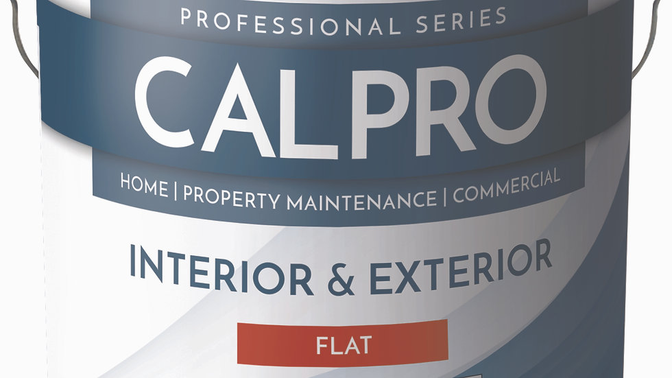 463 CalPro Int/Ext Flat Gallon