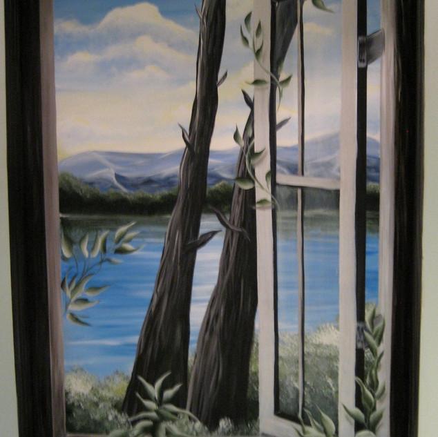 Window Mural