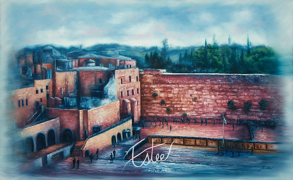 The colors of the Kotel