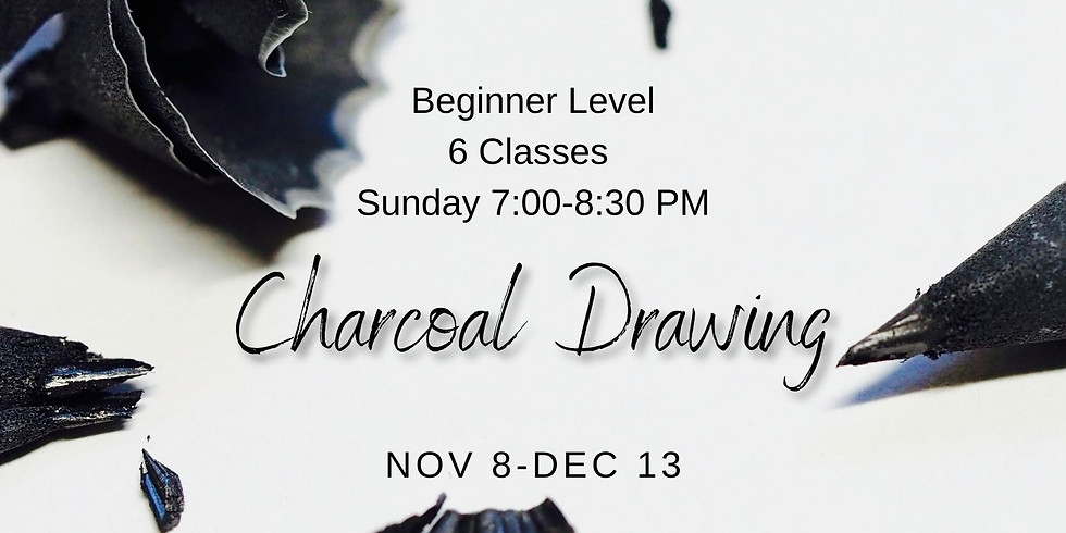 Charcoal Drawing Course