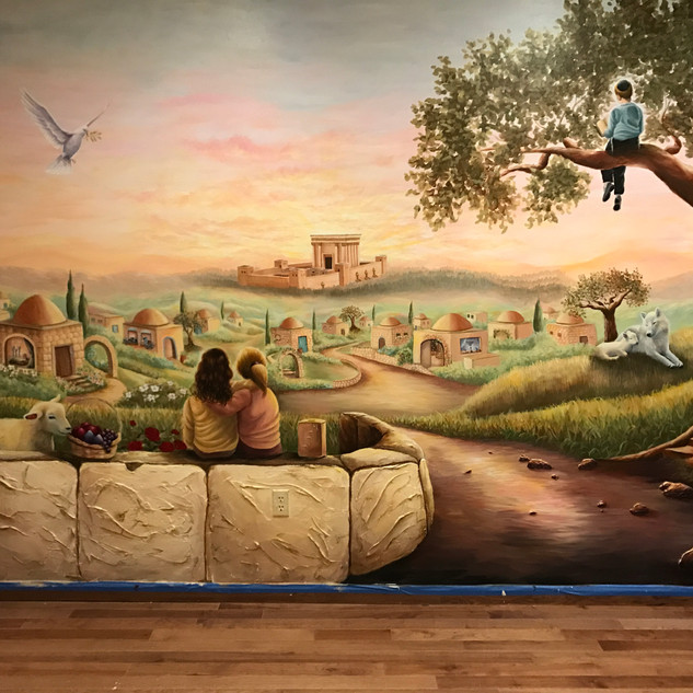 Times of Moshiach Mural