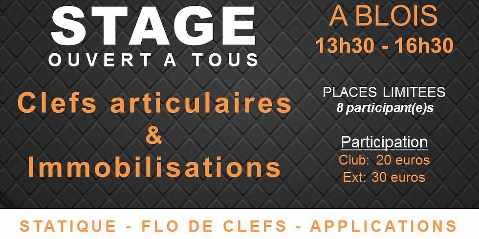 Clefs articulaires & Immobilisations