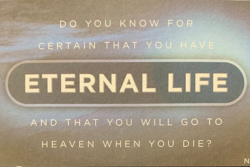 Eternal Life Tract