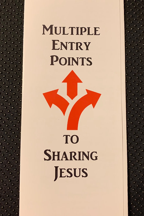 Multiple Entry Points for Sharing Jesus