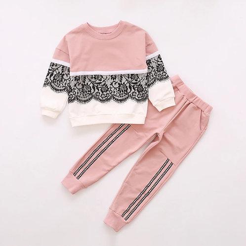 Lace Sweatsuit