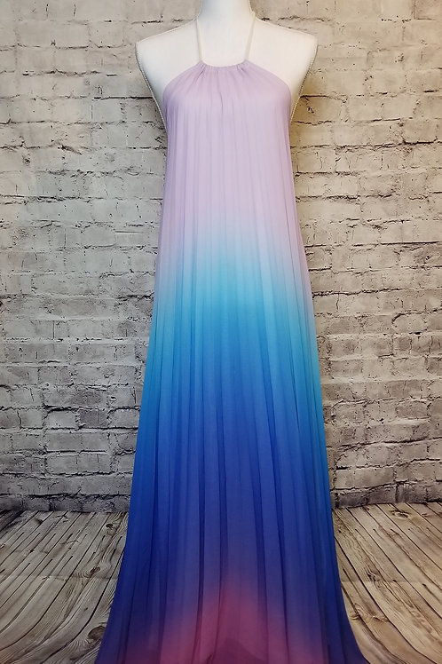 Ombre Purple Maxi Dress