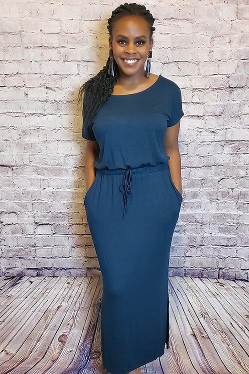Classy Slit Dress