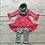 Thumbnail: Floral 3pc outfit