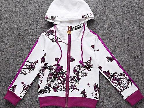 Purple Butterfly Tracksuit