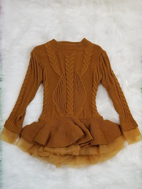 Tutu sweater dress